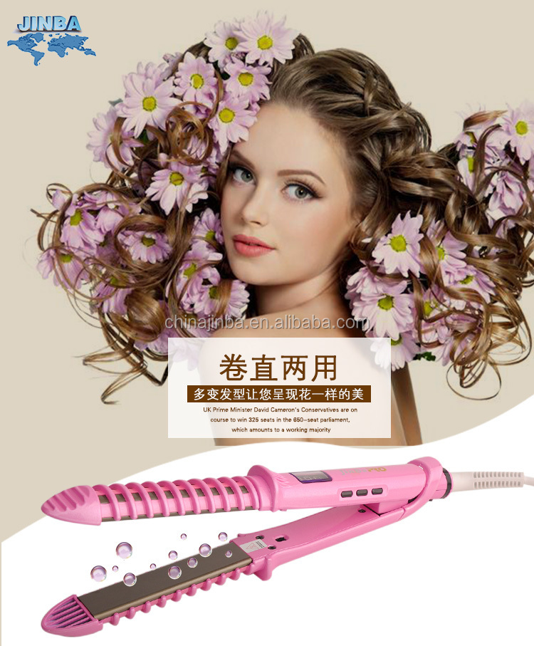 Ceramic hair straightener best selling products on china market