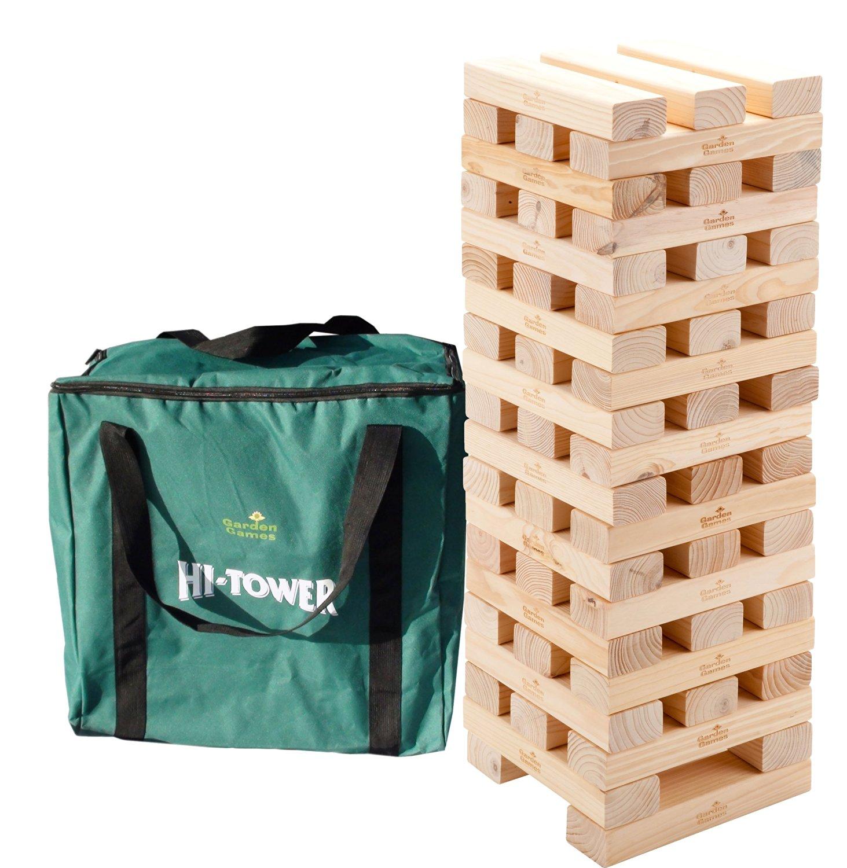 Garden Games Hi Tower (pine, large footprint, with bag)