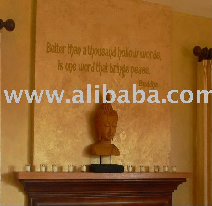 Buddha Quote Wall Art Graffiti Quotes Decals Decal Product On Alibaba