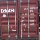Ningbo port 20ft 40ft 40HC second hand container for sale