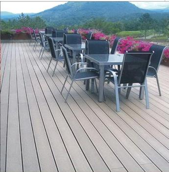 Low cost anti uv wood plastic composite boards swimming for Low price decking