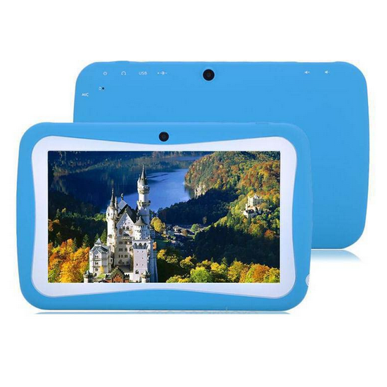 Kids tablet 7 ''Rockchip 3126 Goedkope Android 5.1 Lollipop kid proof siliconen kids 7 inch tablet case tabletten 7 inches android