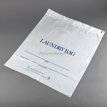 Drawtape Plastic Laundry Bag Commercial Bags Hotel Product On Alibaba