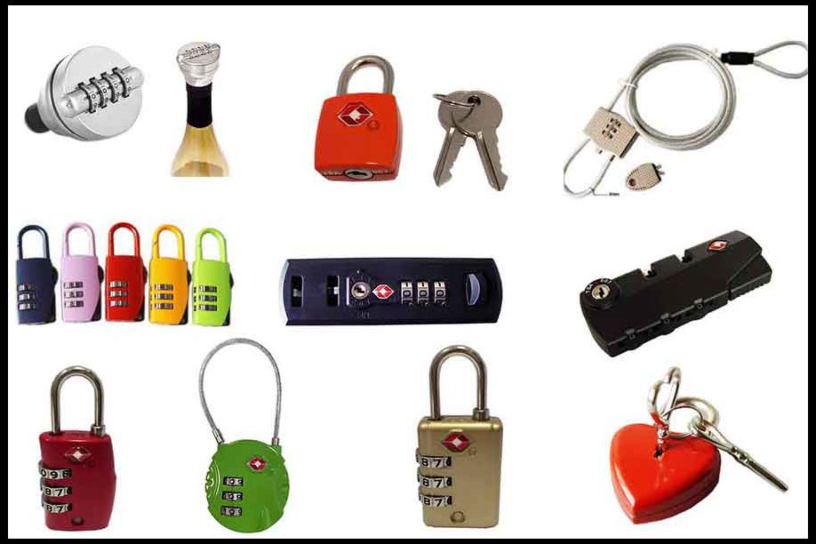 Hign End Zip Code Clutch Leather Bag Locks and Clasps