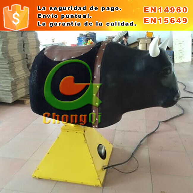 combo juegos maquina toro inflables Inflatable bull machine sport game