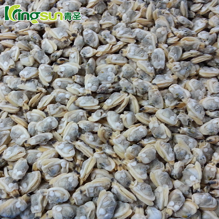 frozen whole raw yellow baby clam meat