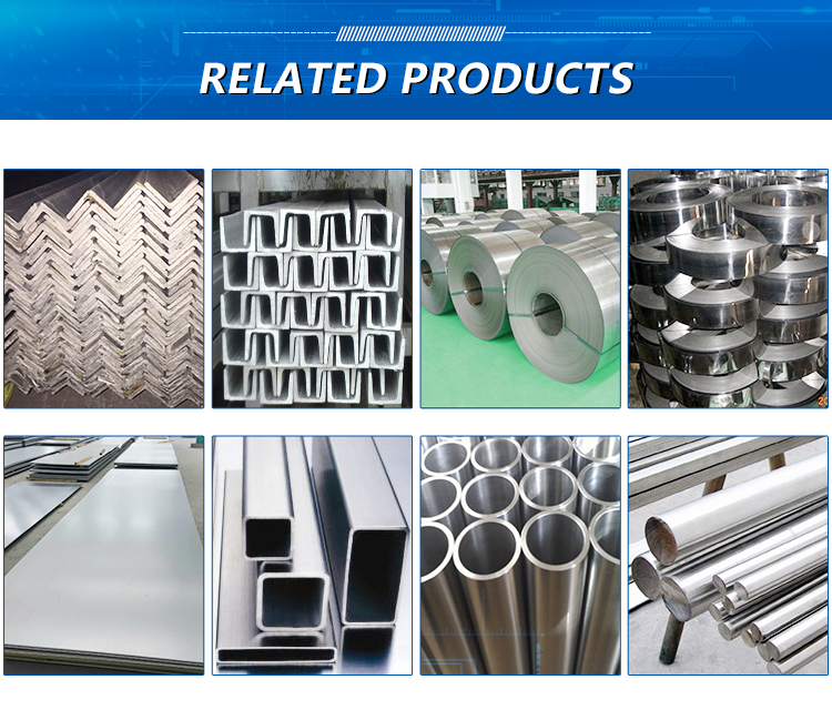 Good Quality Corrosion Resistance 304 316 Stainless Steel  U Channel