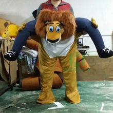 175cm carrying fancy dress carrying lion costume for Christmas party