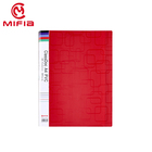 MIFIA colorful A4 Size clear book display books folder