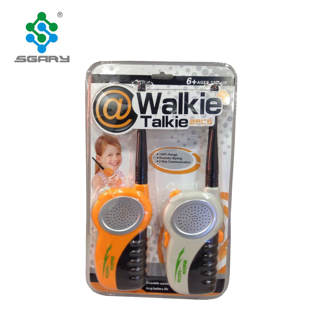 Plastic colorful Outdoor Interphone mobile phone funny walkie talkie <strong>toys</strong> for kids