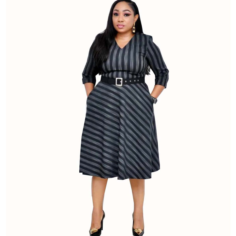 90428-MX48 new look pretty plus size clothes african women dresses фото