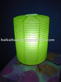 Green color rice paper lantern table lamp for decoration buy green color rice paper lantern table lamp for decoration aloadofball Gallery