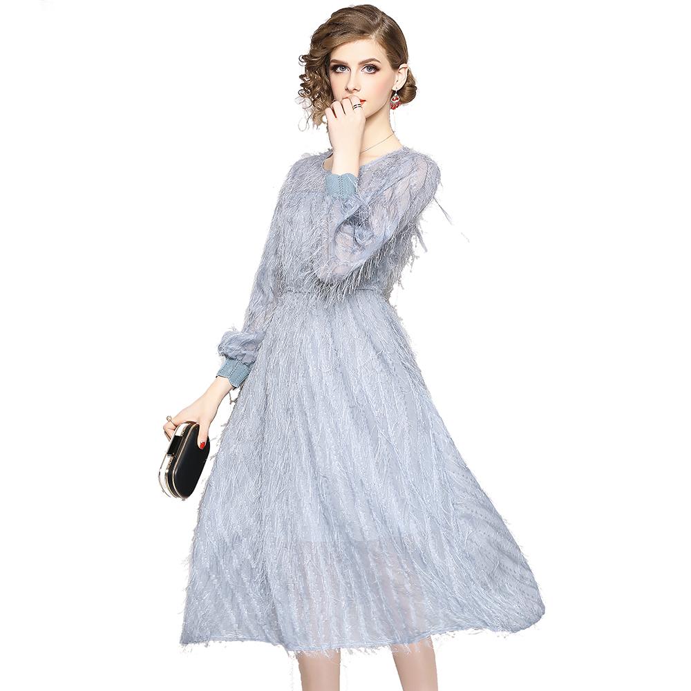 da753ce20f22 Venta al por mayor rosa y azul vestidos-Compre online los mejores ...