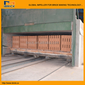 6.9m Auto brick kiln , clay brick tunnel kiln ,brick oven red brick fired kiln