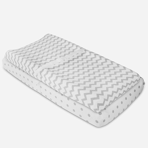 Premium 100% jersey cotton antibacterial comfortable breathable changing pad cover for newborns infants babies toddlers