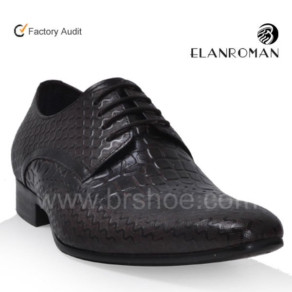shoes elegance official for leather shoes Genuine men brown xaY8Sw