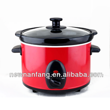 Other electrical equipment red slow cooker/cookware/1.5L /Quart stainless steel slow cooker /cb/ce/rohs/ul certificate in china