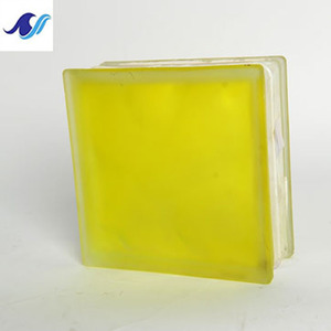 The yellow fog opaque glass block shower wall ukuran glass block