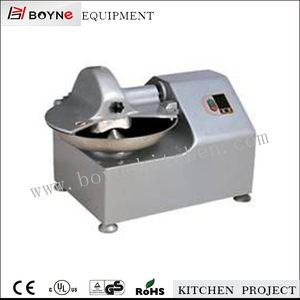 80kg/h vegetable bowl food chopping machine wih polished body