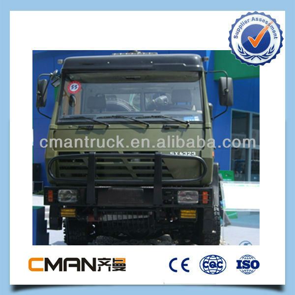 SINOTRUK HOWO military truck 8x8 in off road condition