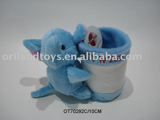 New Design plush animal pen holder on sale