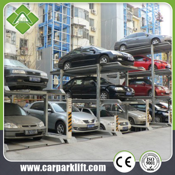 3 Level Parking Lift Three Layers Pit Car Parking Lift For Home
