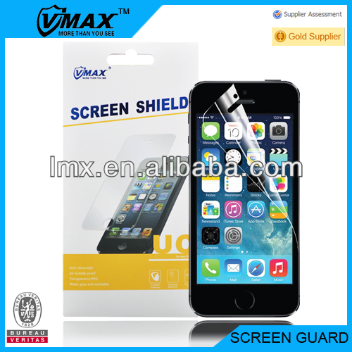 Factory supply front back screen protectors for iphone 5 newest
