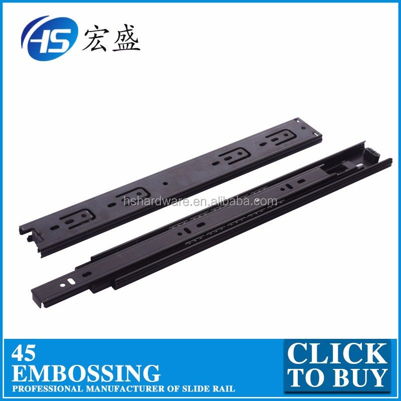 Furniture accessories hardware drawer sliding track 450910