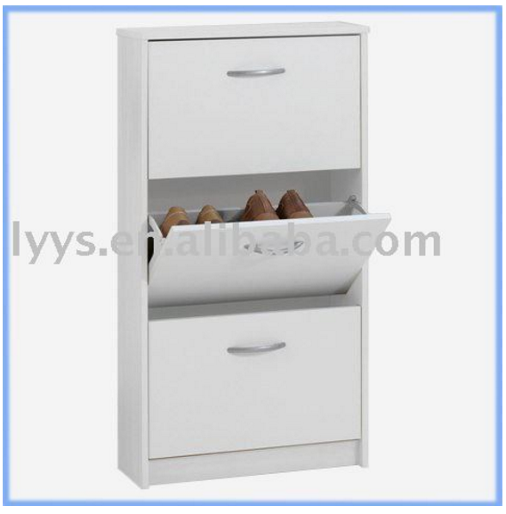 Popular Wall 3 shelf shoe rack cabinet for family shoe storage