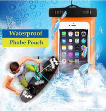 Colorful Waterproof Underwater Touchscreen Pouch Dry Phone Bag Case Cover For iPhone Cell Phone