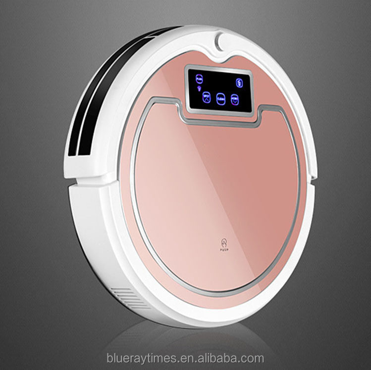 shenzhen self charge floor cleaning machine robot vacuum cleaner with camera