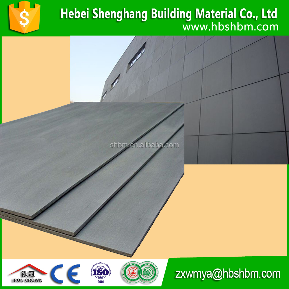 Low Price Exterior U0026 Interior Insulation 9mm 12mm 15mm 20mm Fiber Cement  Board   Buy Exterior U0026 Interior Fiber Cement Board,Low Price Fiber Cement  Board,9mm ...