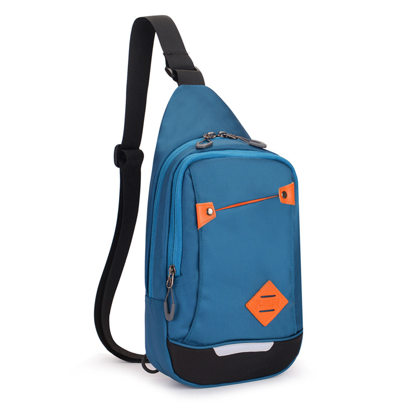 Waterproof chest pack customized cross body bag chest bag travel one <strong>shoulder</strong> pack