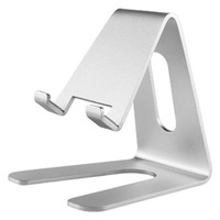 Smart phone or tablet holder aluminium alloy support for ipad customized metal cell phone retail display stands