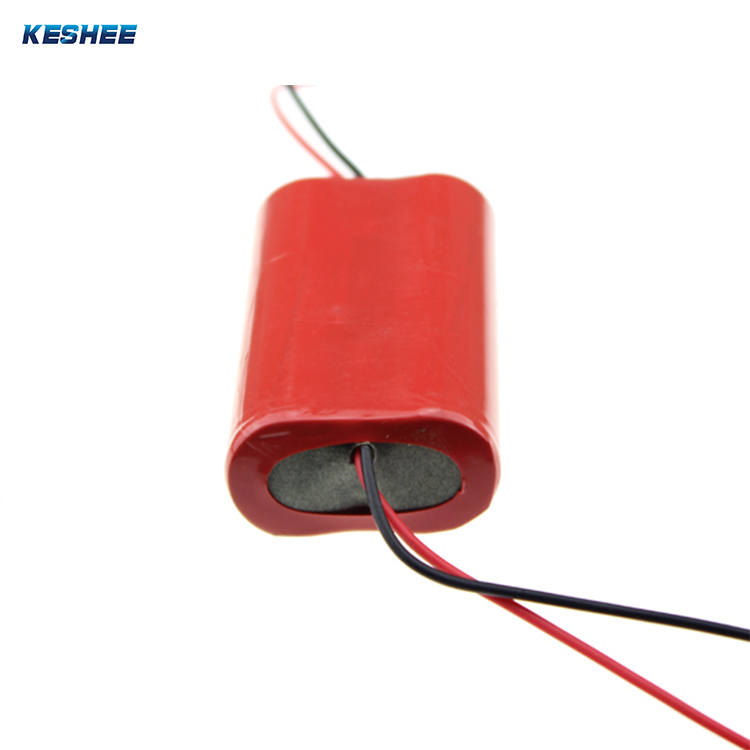 7.4v 2S1P 2.6Ah 18650 rechargeable li-ion battery packs