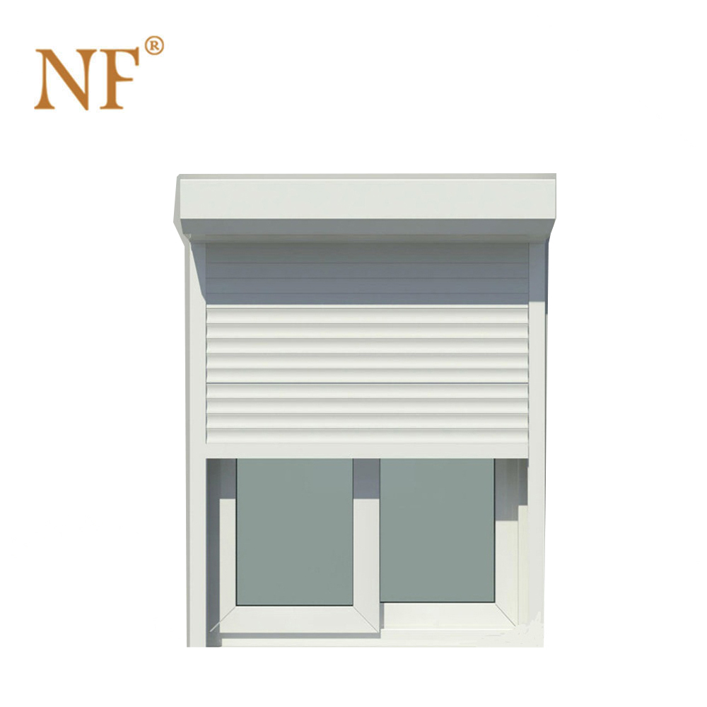 China factory aluminum security shutters windows