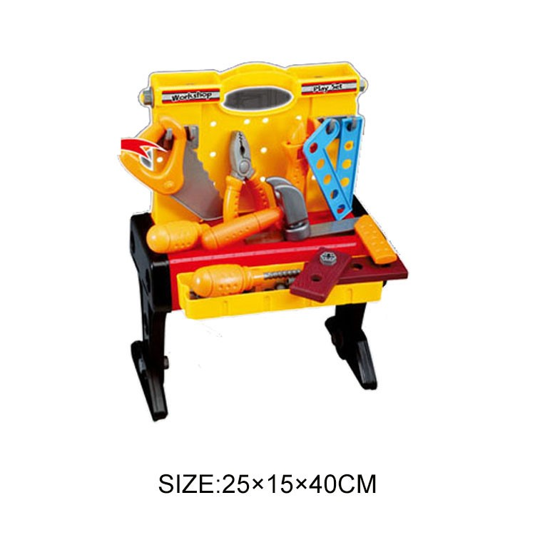 Plastic Toy Tools : Wholesale new product plastic toy tool set for kids