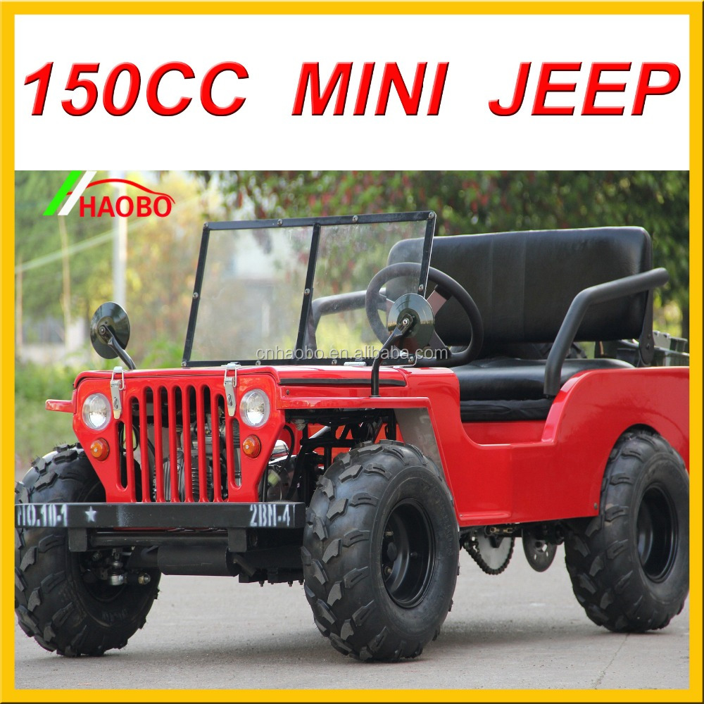 150cc colorful high quality mini jeep for adults in 2016