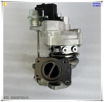 Turbocharger For Bmw Mini Cooper S Hatchback R55 R56 R57 Ep6 Dts Engine  Parts Turbo K03 53039700118 53039700181 53039700163 - Buy