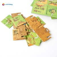 Custom wholesale paper plastic wooden table board game pieces maker