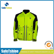 Super quality eco-friendly custom safety motorcycle jacket