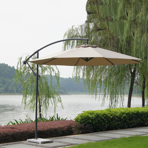 Hot selling Sun parasol big garden banana outdoor umbrellas