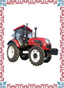 Automatic China low price 4x4 mini mahindra farm tractor 504 with front loader for sale with CE approved