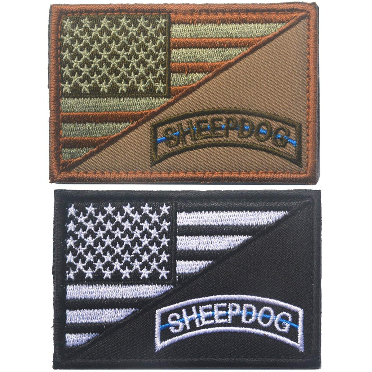 Buy Tactical Sheepdog I Hunt the Wolf Thin Blue Line 2x3