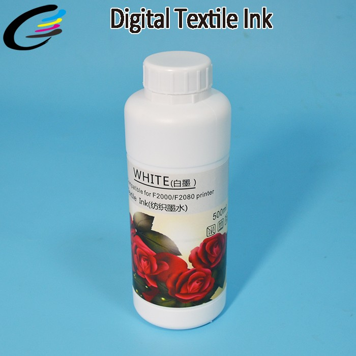 Cotton Fabric T Shirt Textile Printing Inks for Epson DX5 DTG Printer