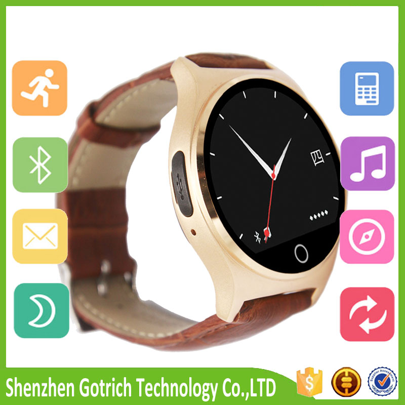 Hot selling branded watch smart 3G MTK6572 android smart watch mini smart phones