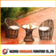 2015 New Design Garden Rattan/Wicker Patio Outdoor Furniture Coffee Set