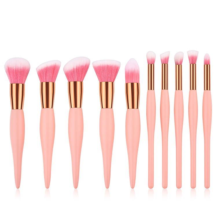 OEM custom 10PCS Mini <strong>high</strong> <strong>quality</strong> <strong>makeup</strong> <strong>brush</strong> set professional wholesale <strong>brush</strong> make up set for cosmetics