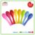 Food Grade CIQ Audit Plastic Melamine Baby Spoon With Custom Printed