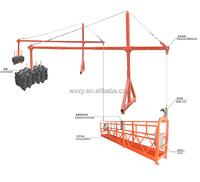 ZLP630 Construction window cleaning electric steel and aluminum swing stage